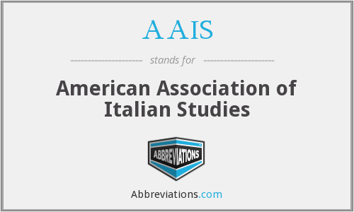 AAIS - American Association of Italian Studies