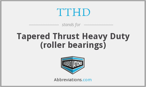 What does TTHD stand for?