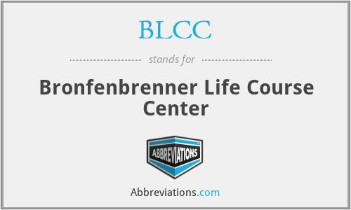 BLCC - Bronfenbrenner Life Course Center