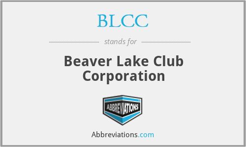 BLCC - Beaver Lake Club Corporation