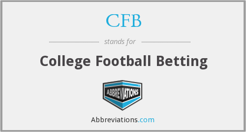 CFB - College Football Betting