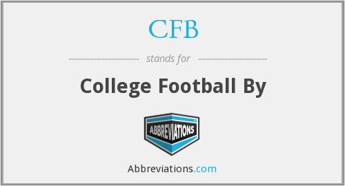 CFB - College Football By