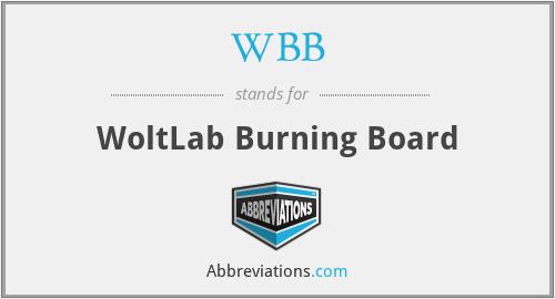 WBB - WoltLab Burning Board
