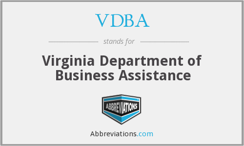VDBA - Virginia Department of Business Assistance
