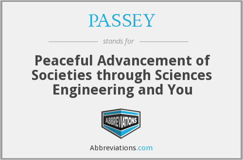 What does PASSEY stand for?