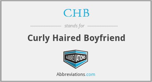 CHB - Curly Haired Boyfriend