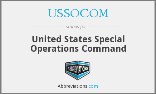 What does USSOCOM stand for?