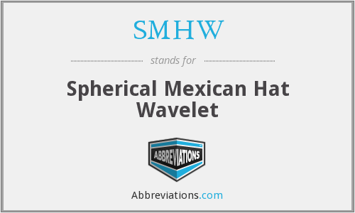 SMHW - Spherical Mexican Hat Wavelet