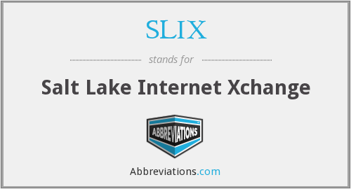 What does SLIX stand for?