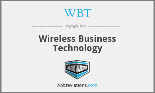 WBT - Wireless Business Technology