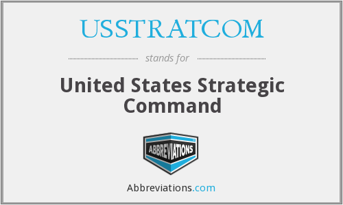 What does USSTRATCOM stand for?