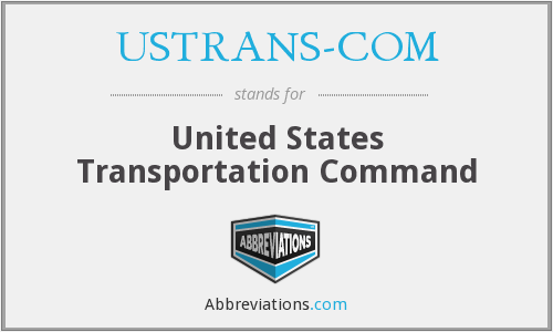 USTRANS-COM - United States Transportation Command