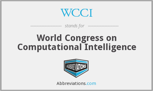 WCCI - World Congress on Computational Intelligence
