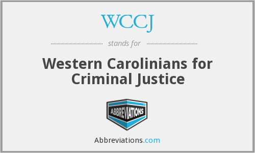 What does WCCJ stand for?