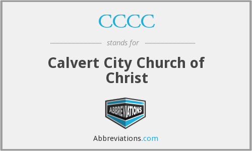 CCCC - Calvert City Church of Christ