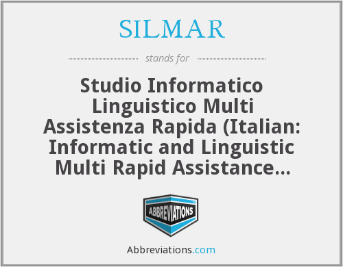 What does SILMAR stand for?