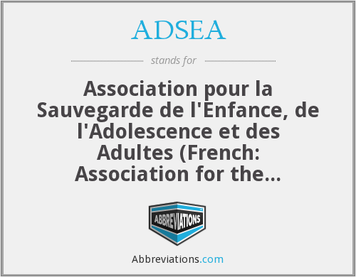 What does ADSEA stand for?