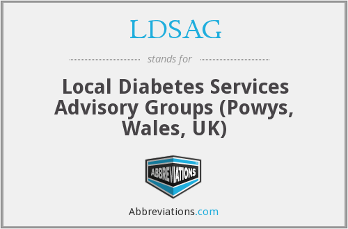 What does LDSAG stand for?