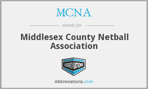 MCNA - Middlesex County Netball Association