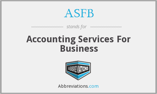 ASFB - Accounting Services For Business