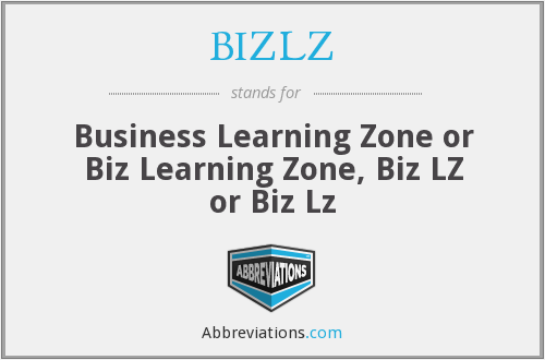 What does BIZLZ stand for?