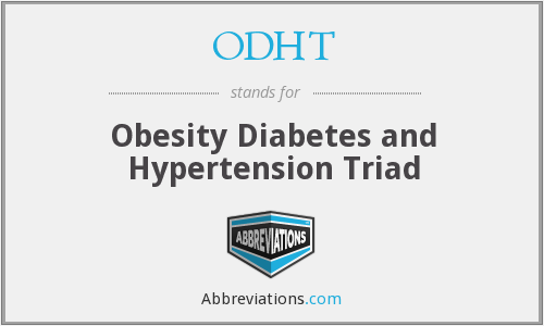 What does ODHT stand for?