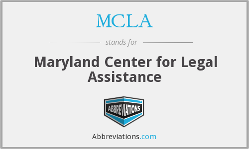 MCLA - Maryland Center for Legal Assistance