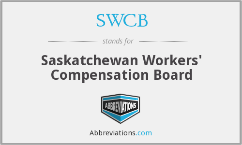 SWCB - Saskatchewan Workers' Compensation Board