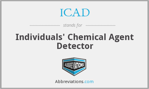 What does ICAD stand for?