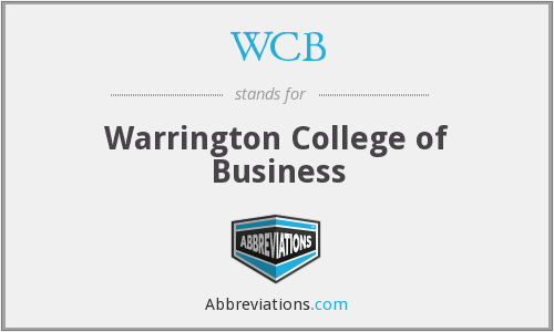 WCB - Warrington College of Business