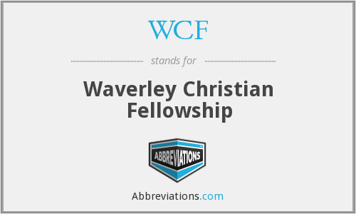WCF - Waverley Christian Fellowship