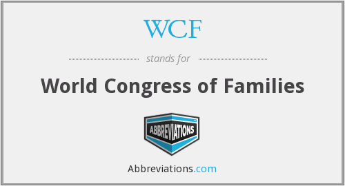 WCF - World Congress of Families