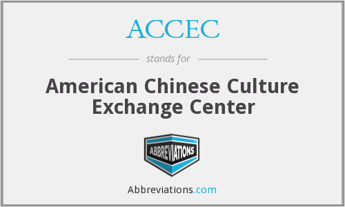 ACCEC - American Chinese Culture Exchange Center