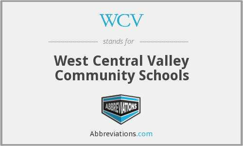 WCV - West Central Valley Community Schools