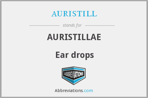 What does AURISTILL stand for?