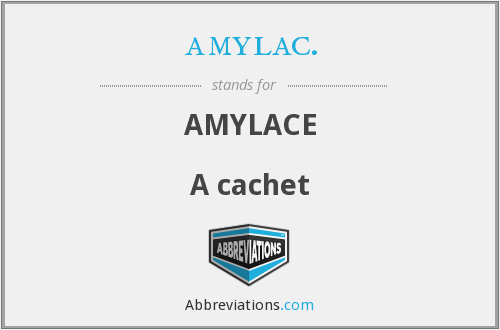What does AMYLAC. stand for?
