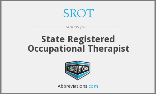 What does SROT stand for?