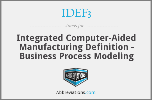 What does IDEF3 stand for?