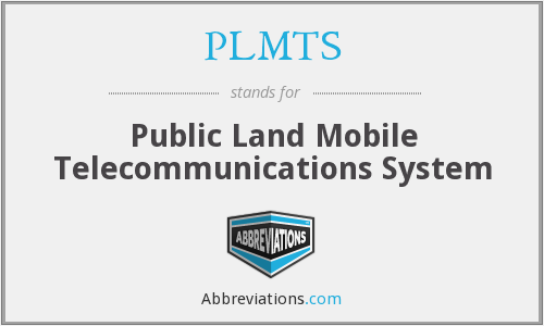 What does PLMTS stand for?