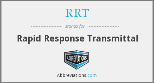 What does RRT stand for? — Page #2