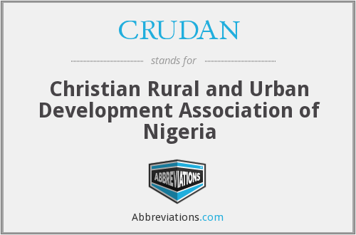 What does CRUDAN stand for?