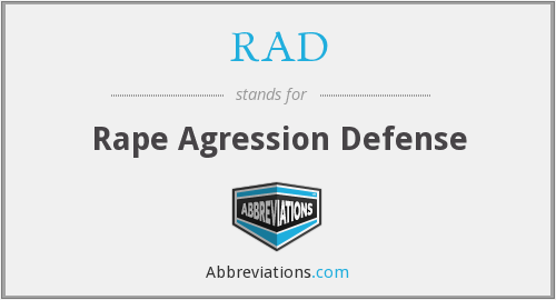RAD - Rape Agression Defense