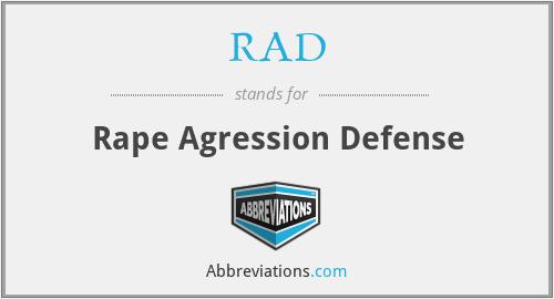 RAD - Rape Agression Defense