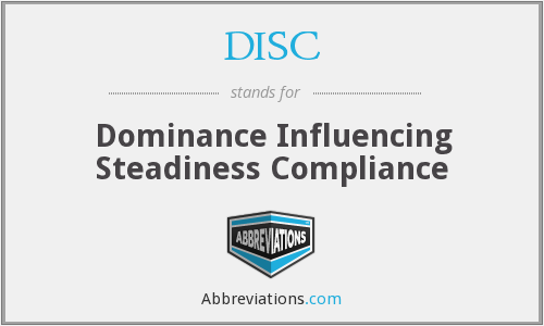 DISC - Dominance Influencing Steadiness Compliance