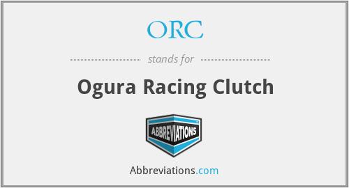 ORC - Ogura Racing Clutch