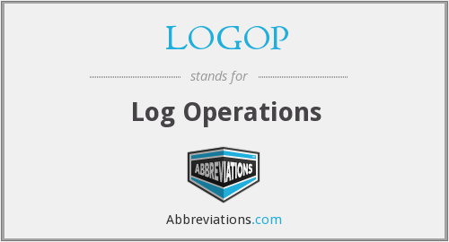 What does LOGOP stand for?