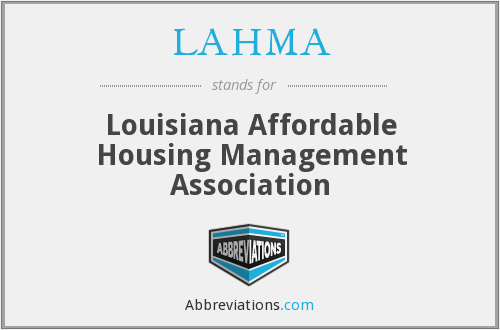 What does LAHMA stand for?