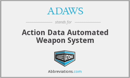 What does ADAWS stand for?