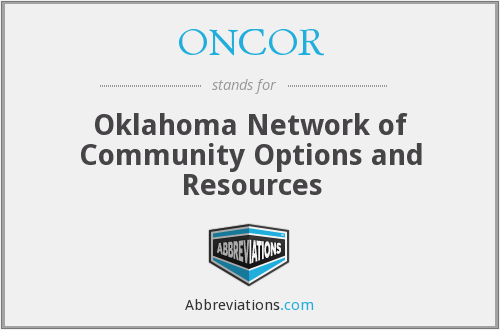 What does ONCOR stand for?
