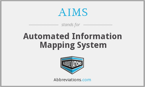 AIMS - Automated Information Mapping System